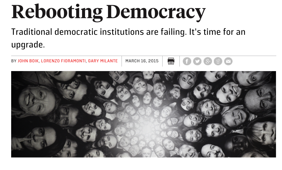 Rebooting Democracy Foreign Policy