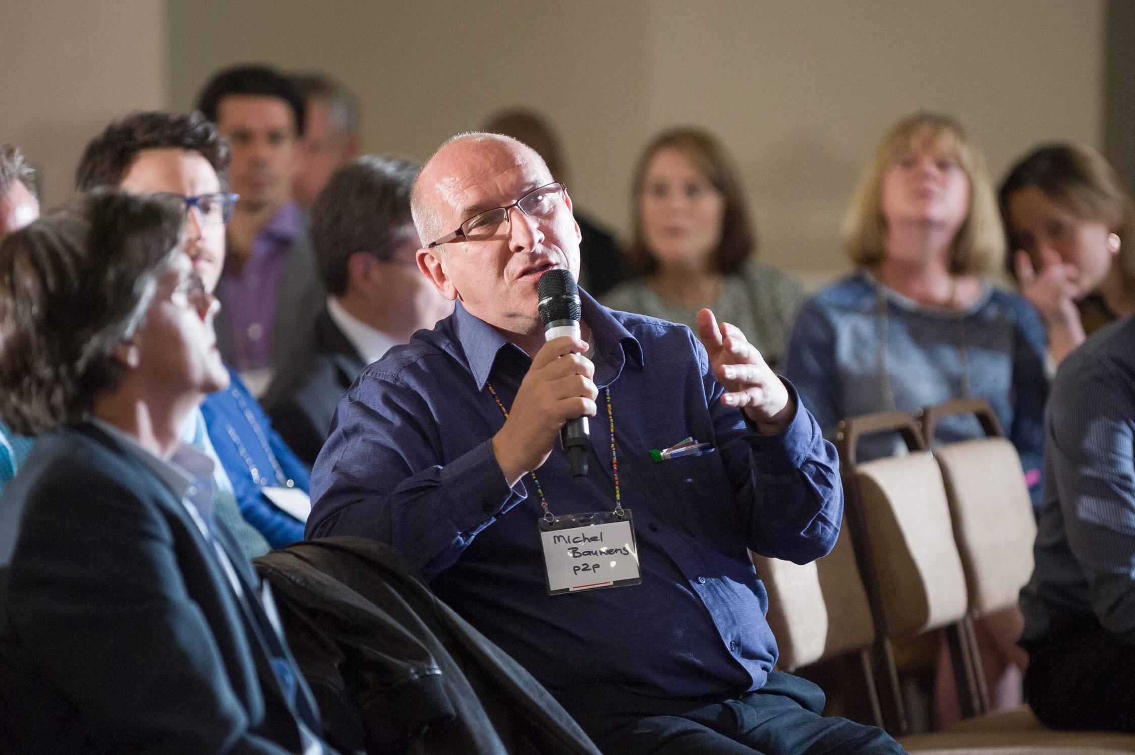 Peer-to-peer activist Michel Bauwens