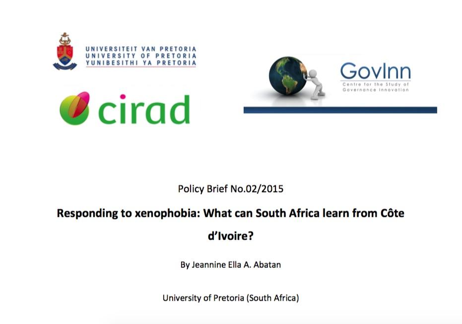 Responding to Xenophobia