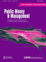 Public Money and Management