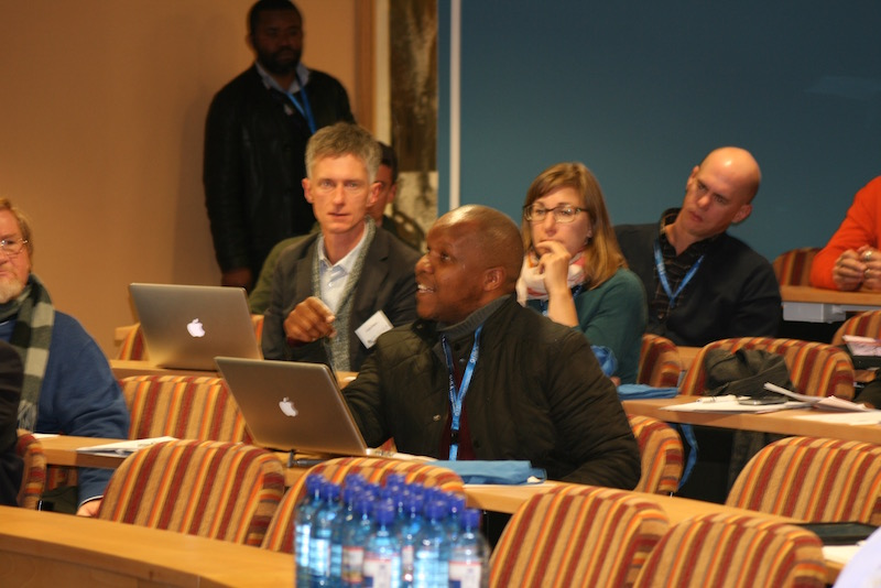 Discussions in Professor Timothy Sisk's keynote address