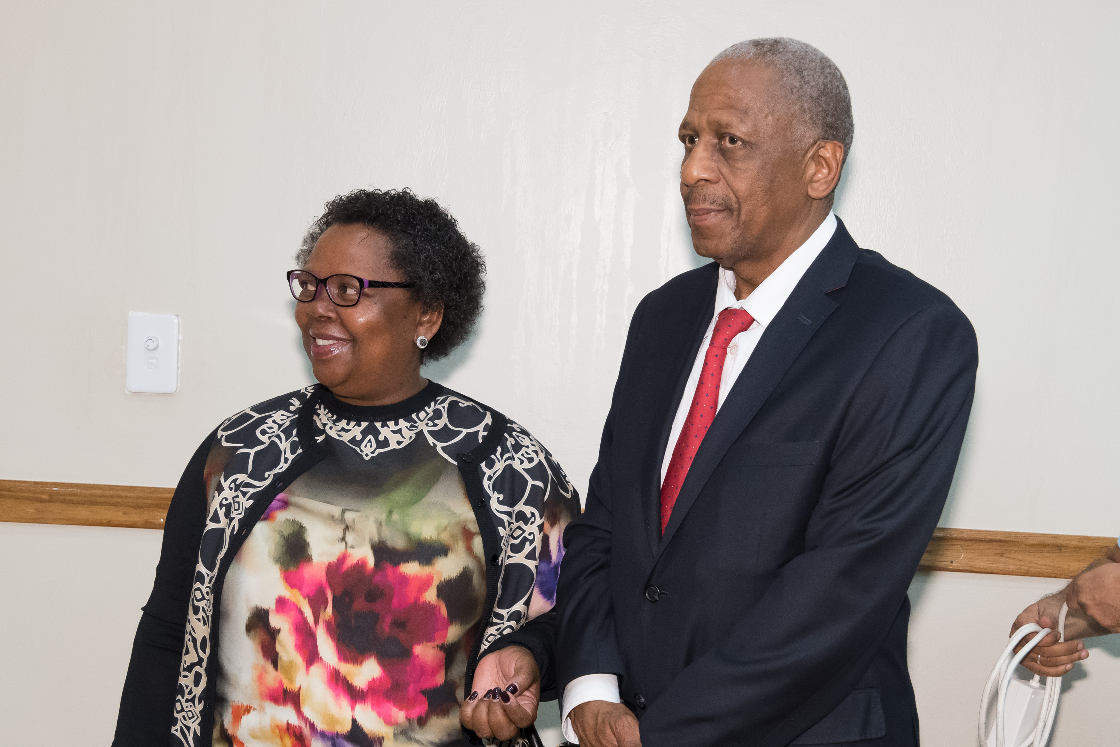 Gloria Serobe and Matthews Phosa