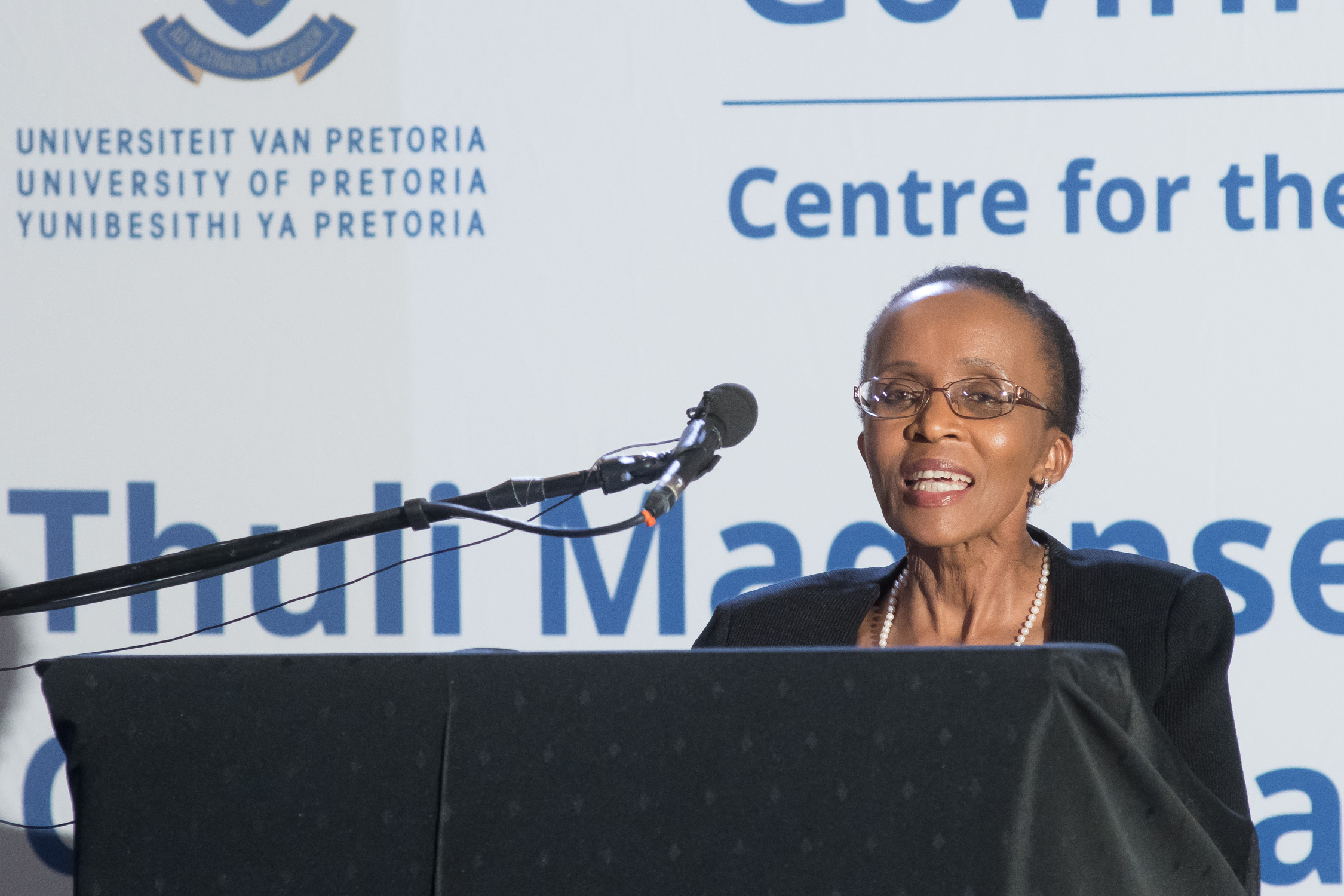 Thoko Mpumlwana, Deputy Chairperson of the Commission for Gender Equality
