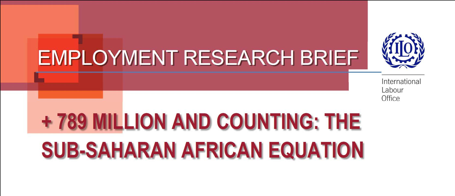 ILO Employment Research Brief