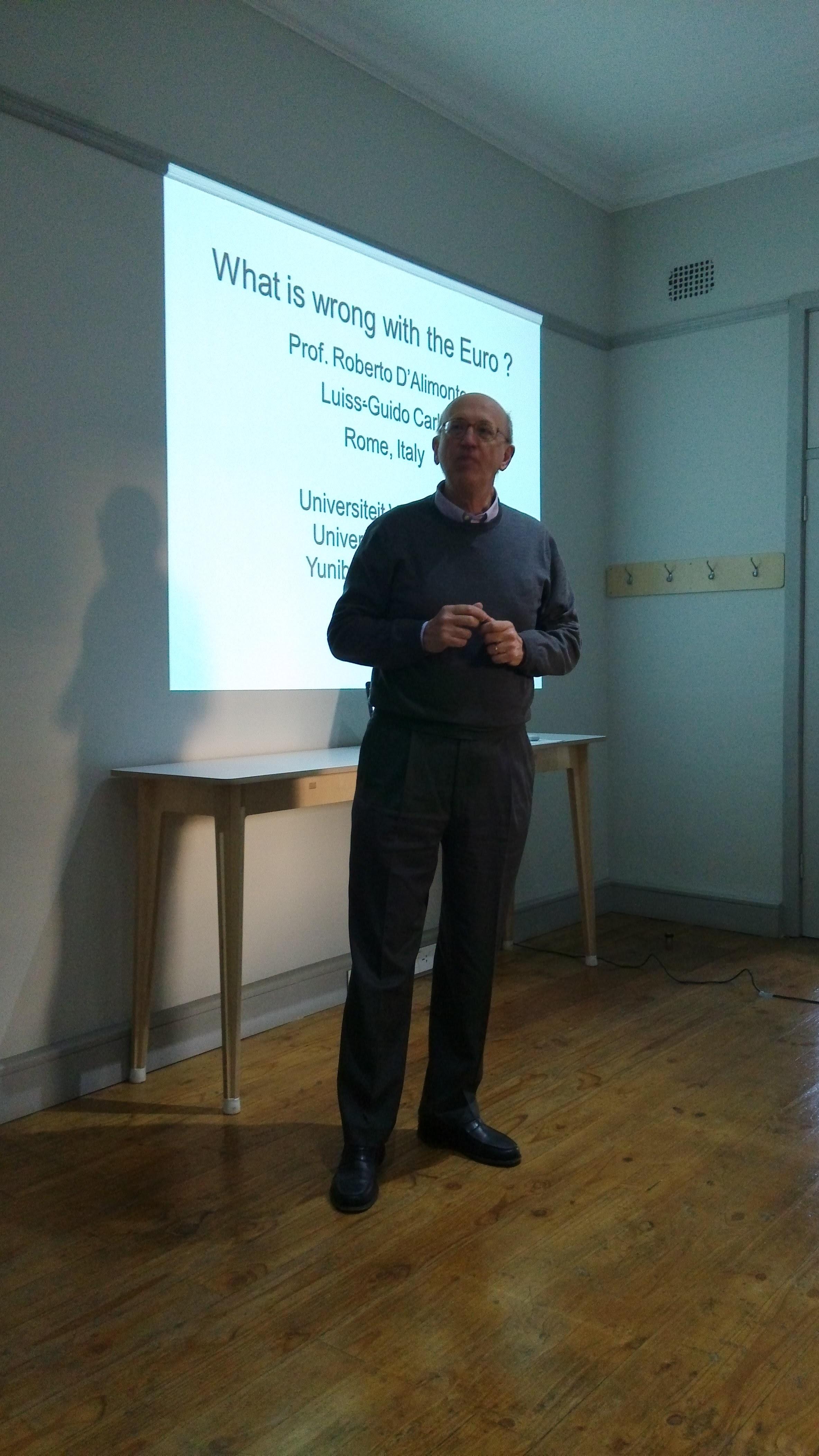 Prof. Roberto D'Alimonte