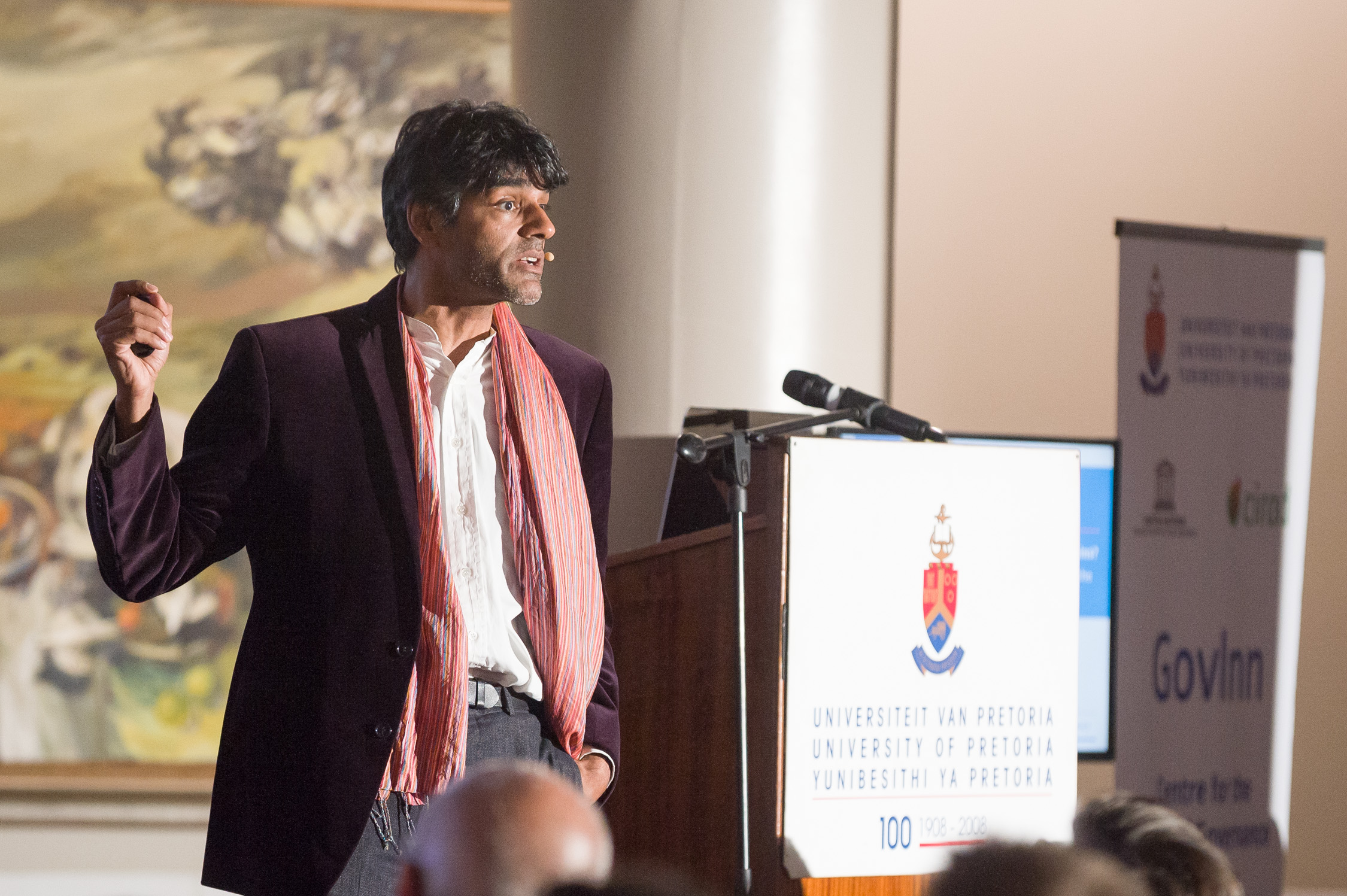 Raj Patel at GovInn Week 2015