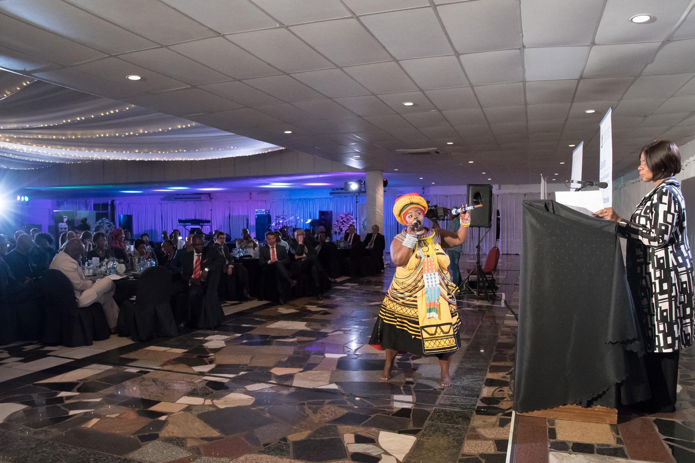 Praise poet Jessica Mbangeni
