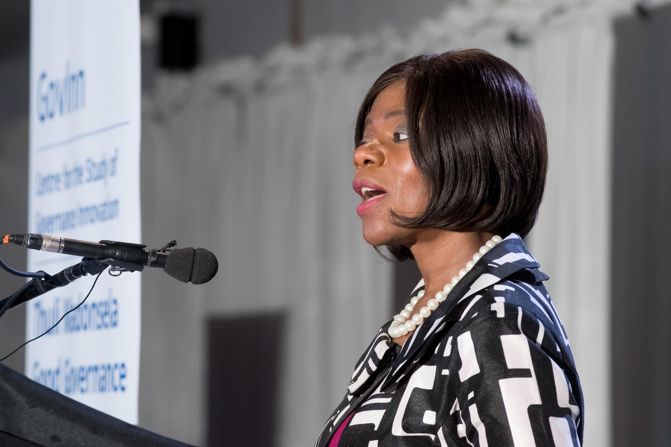 Advocate Thuli Madonsela